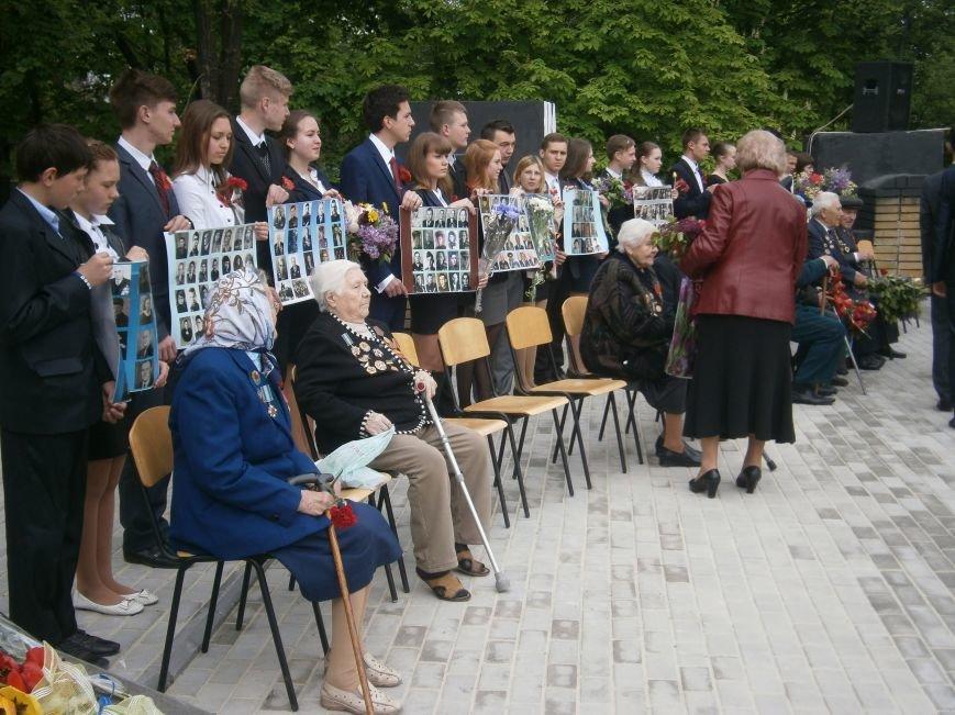 В Димитрове 70-летие Победы отпраздновали митингом, полевой кухней и концертом (ОБНОВЛЕНО) (фото) - фото 29