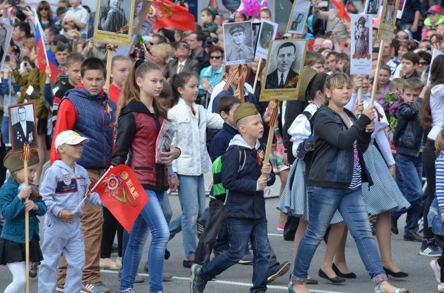 Десятки тысяч человек вышли на парад Победы в Симферополе (ФОТОРЕПОРТАЖ), фото-13