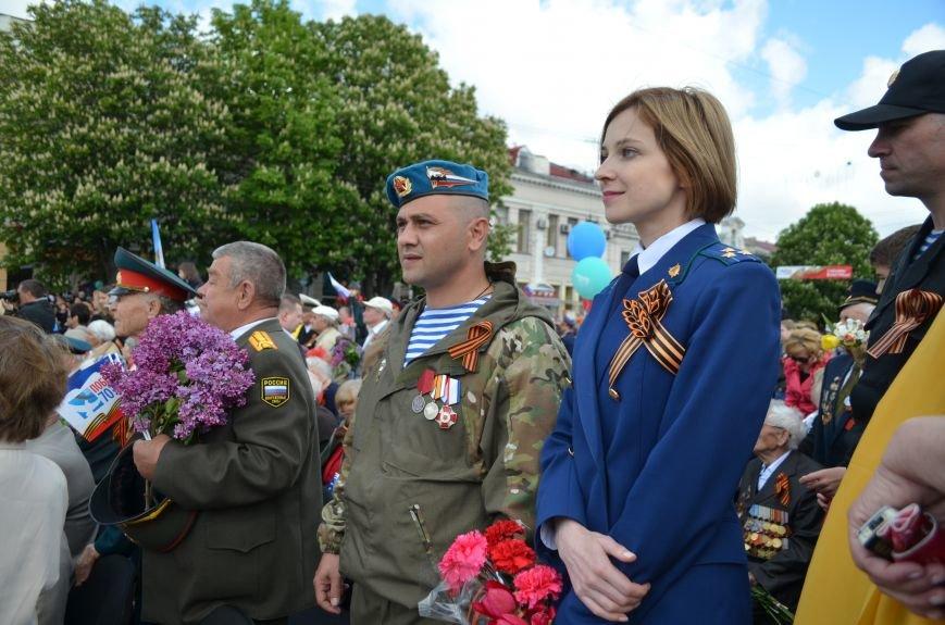 Десятки тысяч человек вышли на парад Победы в Симферополе (ФОТОРЕПОРТАЖ), фото-5