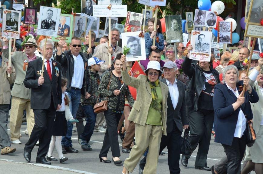 Десятки тысяч человек вышли на парад Победы в Симферополе (ФОТОРЕПОРТАЖ), фото-14