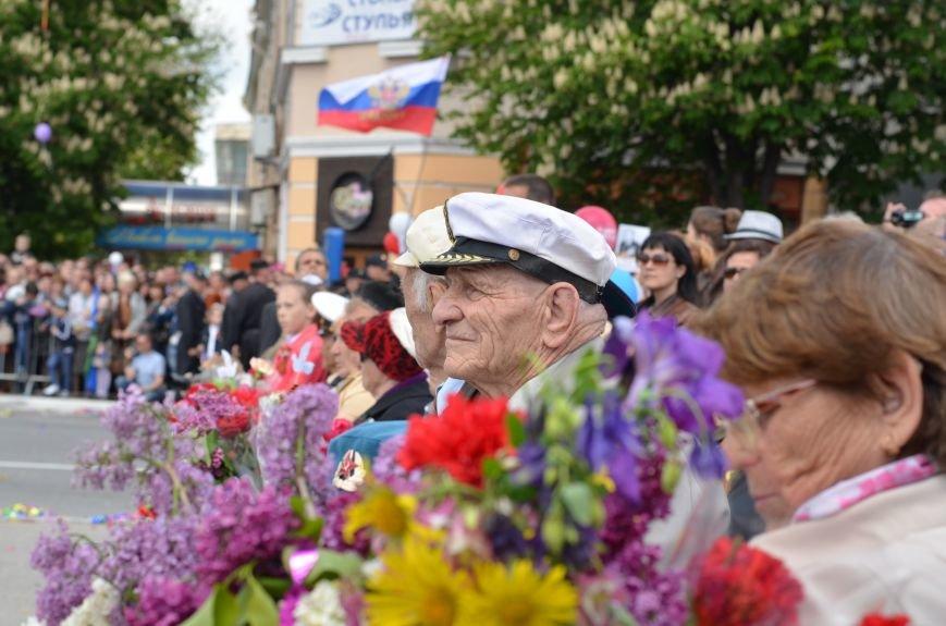 Десятки тысяч человек вышли на парад Победы в Симферополе (ФОТОРЕПОРТАЖ), фото-3
