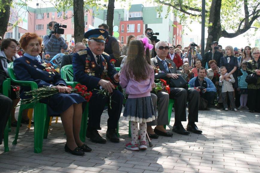 В Троицке прошел митинг, шествие и возложение цветов к мемориалу в честь Дня Победы (ФОТО), фото-3