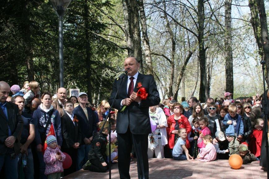 В Троицке прошел митинг, шествие и возложение цветов к мемориалу в честь Дня Победы (ФОТО), фото-4