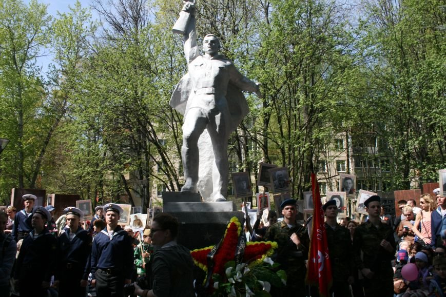 В Троицке прошел митинг, шествие и возложение цветов к мемориалу в честь Дня Победы (ФОТО), фото-5