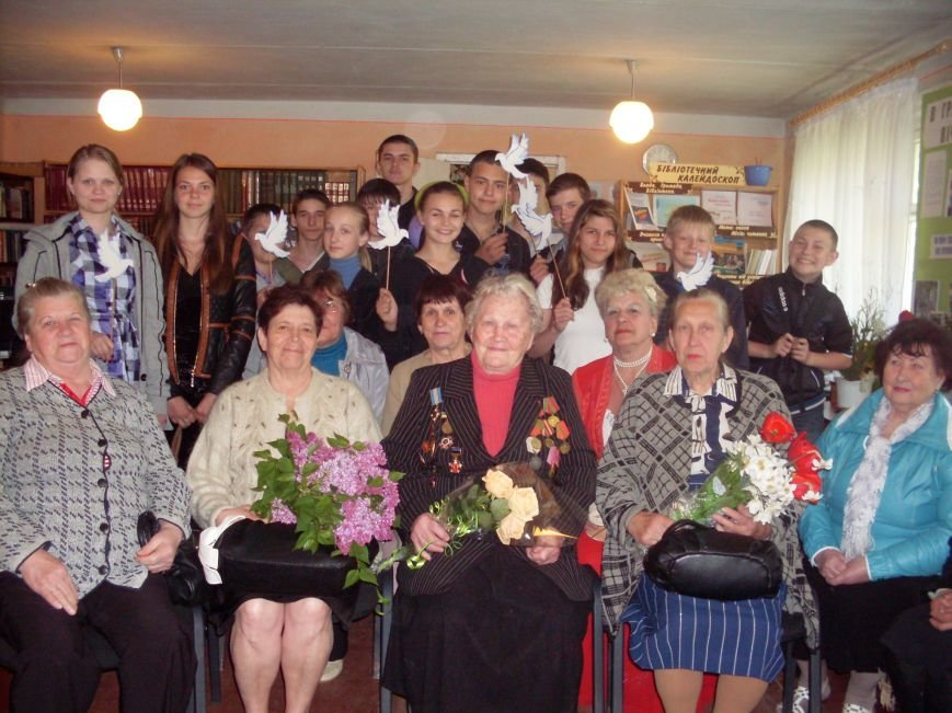 Дню Победы был посвящен вечер памяти в Центральной библиотеке Димитрова (фото) - фото 2