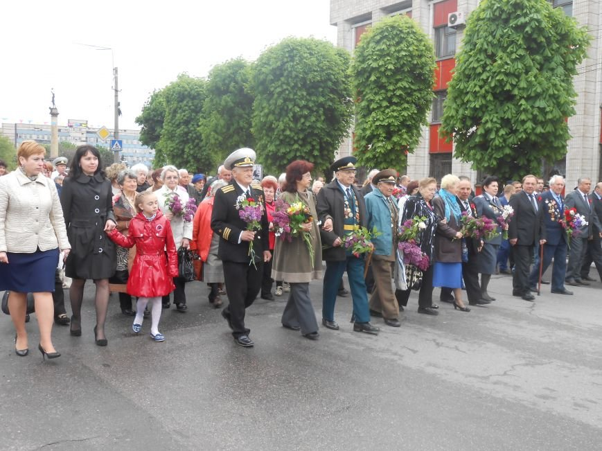 Днепродзержинск отмечает 70-ю годовщину Победы над нацизмом (фото) - фото 16