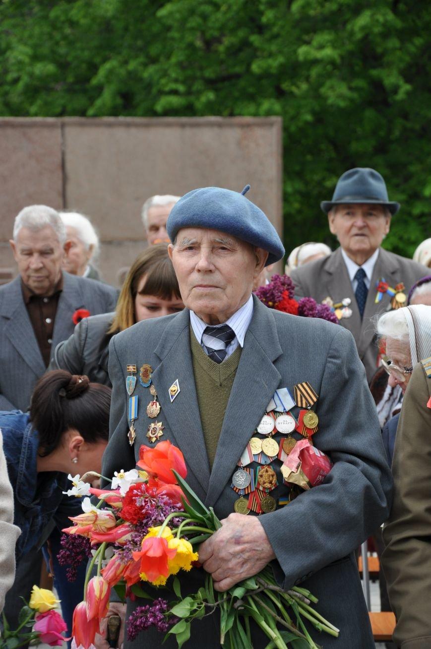 В Краматорске в сквере Героев у Вечного огня состоялся митинг, фото-2