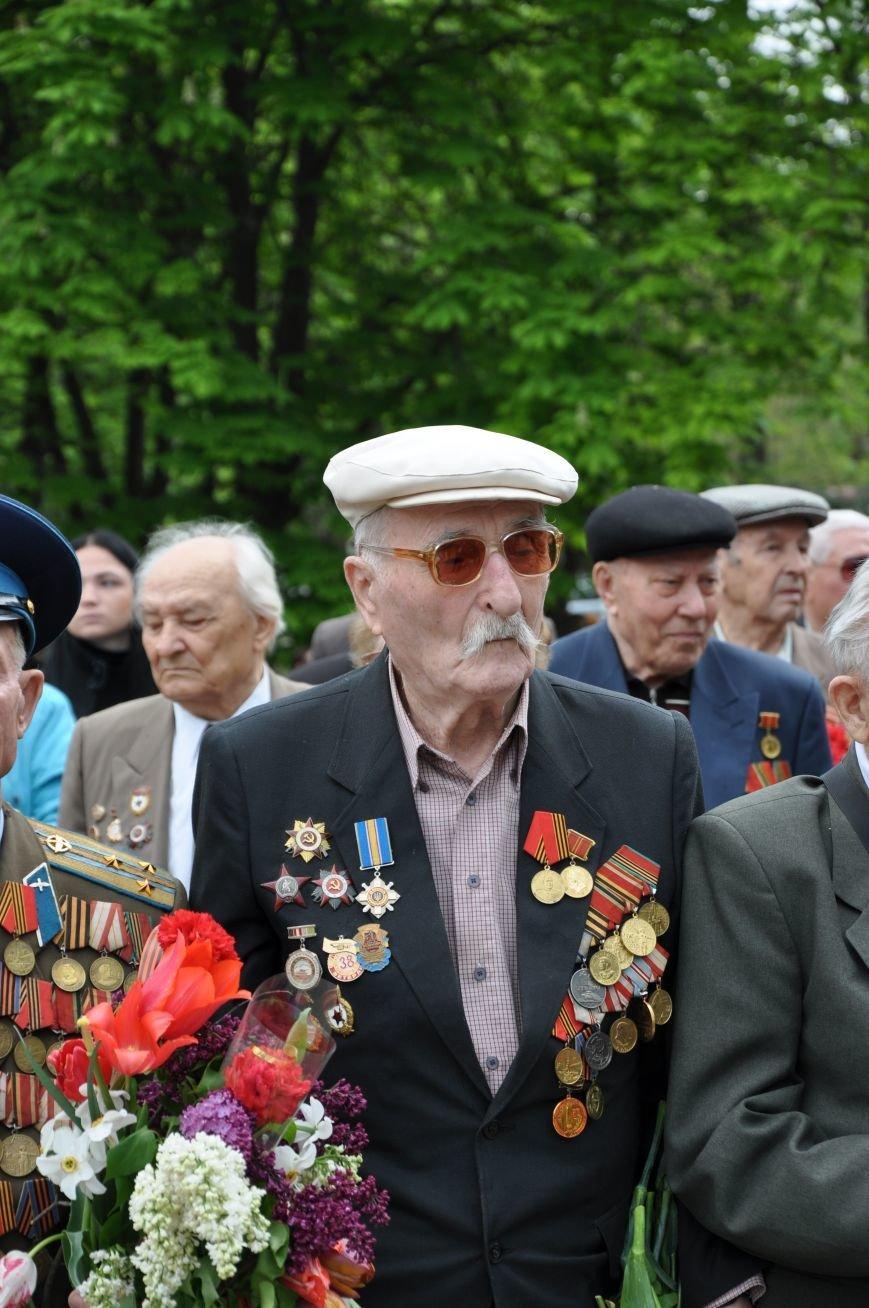 В Краматорске в сквере Героев у Вечного огня состоялся митинг, фото-4