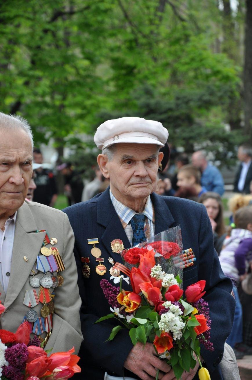 В Краматорске в сквере Героев у Вечного огня состоялся митинг, фото-7
