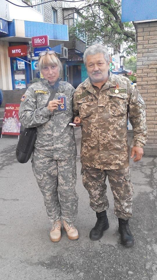 Кременчугского волонтёра наградили памятной медалью, фото-1