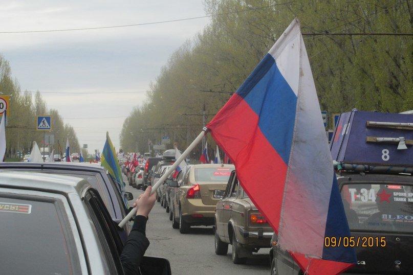 Автопробег в честь Дня Победы в Ульяновске собрал рекордное количество участников (с фотографиями) (фото) - фото 1