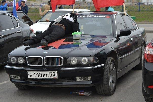 Автопробег в честь Дня Победы в Ульяновске собрал рекордное количество участников (с фотографиями), фото-7