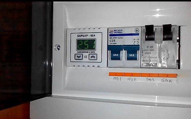 В Димитрове напряжение в сети зашкаливает за 250 вольт (фото) - фото 1