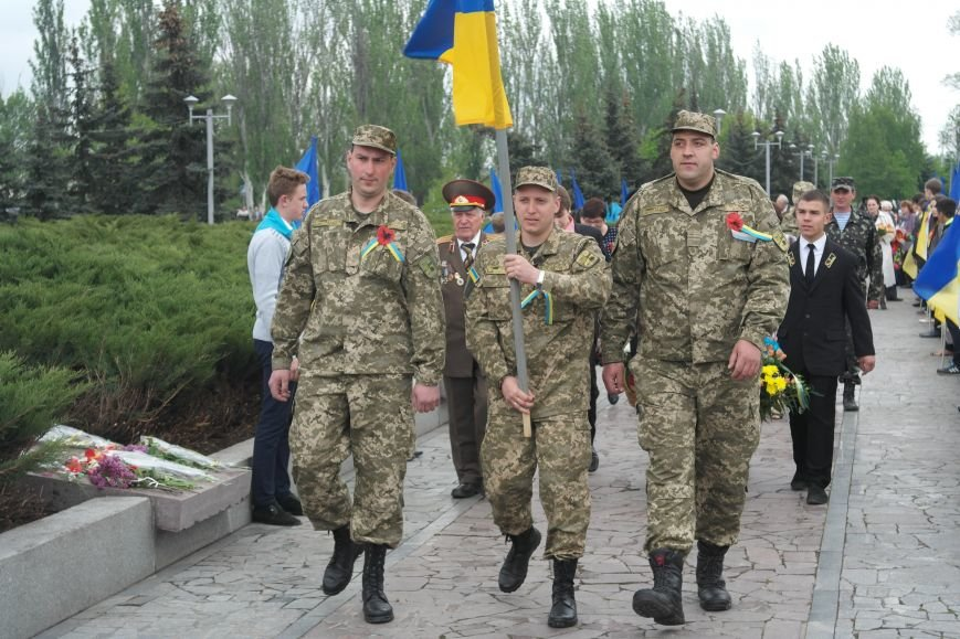 Как Красноармейск отметил День Победы (фото) - фото 18