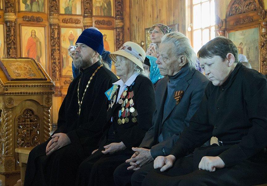 Встреча с ветеранами в храме, фото-2