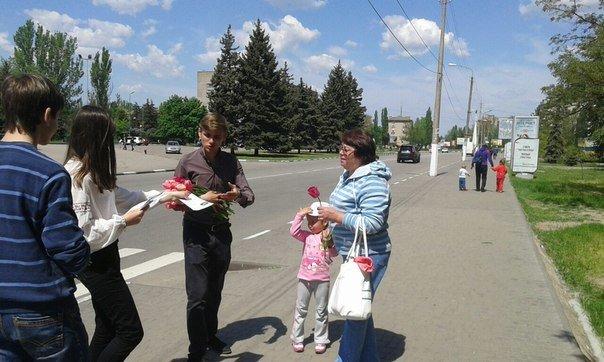 10 травня «Студентська свобода» поздоровила жінок Нікополя з Днем матері, фото-2