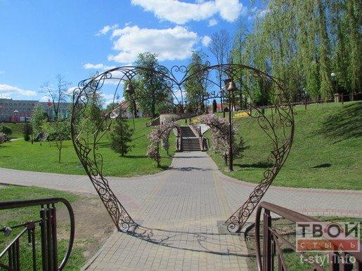 Фотофакт: в Гродно появилась арка Любви (фото) - фото 1