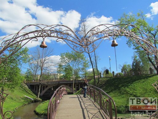 Фотофакт: в Гродно появилась арка Любви (фото) - фото 2