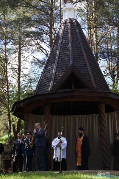 В Коробчицах открыли часовню в память о защитниках Отчества (фото) - фото 2