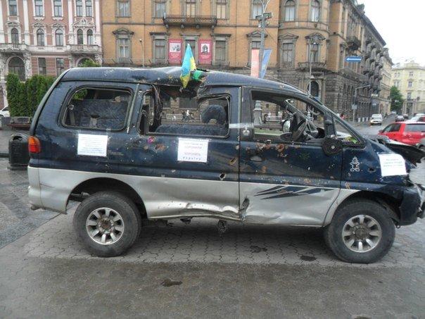 У Львові показали машини, які побували на війні (ФОТО) (фото) - фото 1