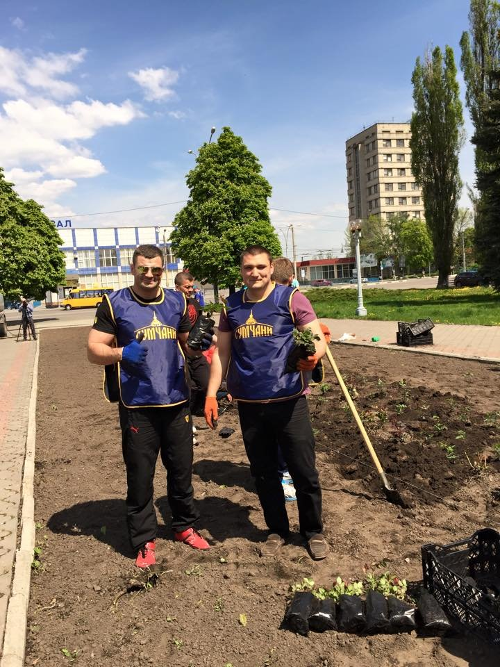 «Сумчане» высадили 300 кустов роз (ФОТО), фото-4