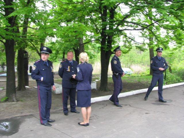 9 мая милиция в Доброполье не зафиксировала никаких нарушений, фото-2
