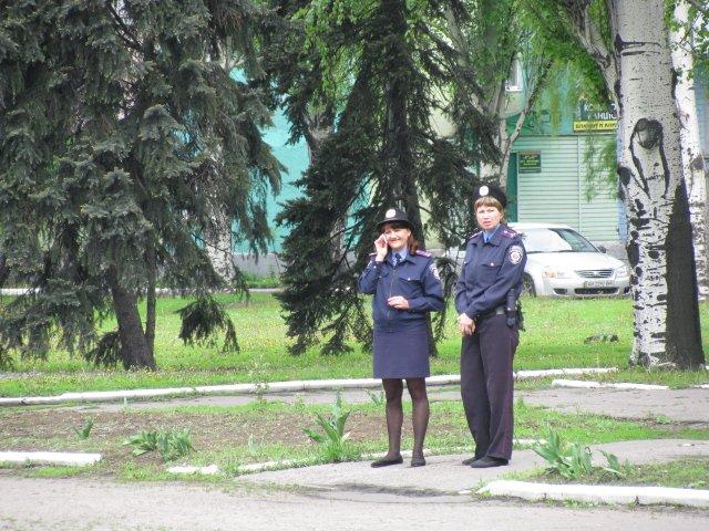 9 мая милиция в Доброполье не зафиксировала никаких нарушений, фото-4