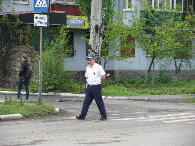 9 мая милиция в Доброполье не зафиксировала никаких нарушений, фото-3