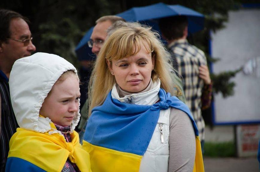 Мариупольцы поздравили Надежду Савченко с Днем рождения (ФОТО), фото-2