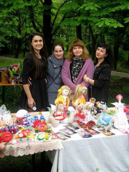 В добропольском парке состоялась вторая благотворительная выставка-продажа от «МИГ», фото-1