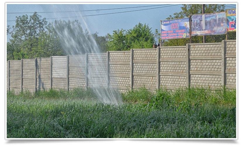 Порыв водопровода «аж до неба» на Артёма (фотофакт) (фото) - фото 3
