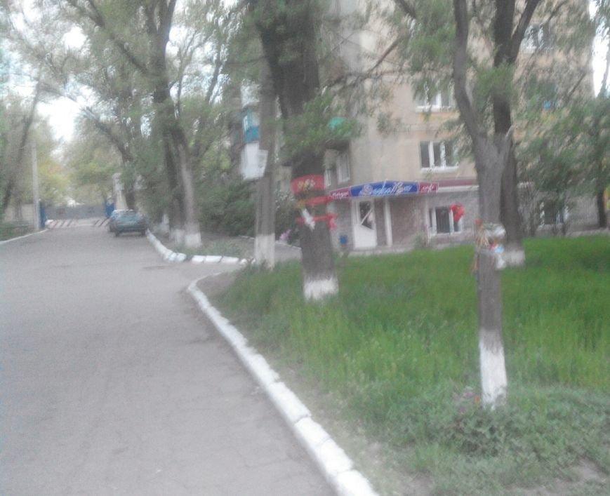 Мариуполец уничтожил «ватный» мемориал (ФОТО) (фото) - фото 1