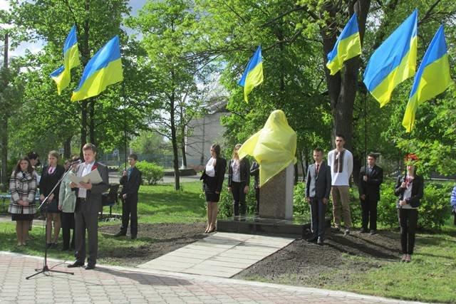 У Малині на Алеї Слави відкрито пам'ятник відважному солдату Другої світової війни, фото-1