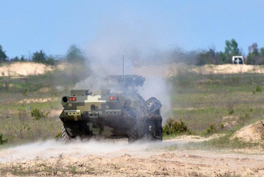Порошенко и Турчинов наблюдали за стрельбами в Черниговской области, фото-6
