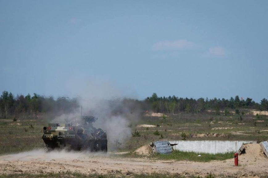 Порошенко и Турчинов наблюдали за стрельбами в Черниговской области, фото-2
