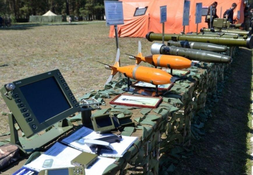 Порошенко и Турчинов наблюдали за стрельбами в Черниговской области, фото-10