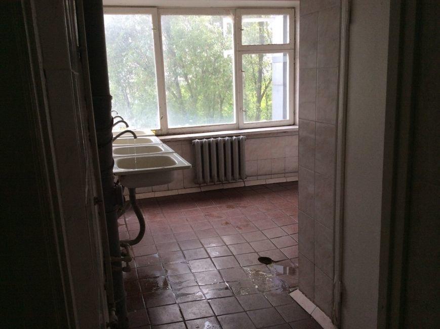 В общежитии ДНУ студенты не могут принять душ (фото) - фото 1