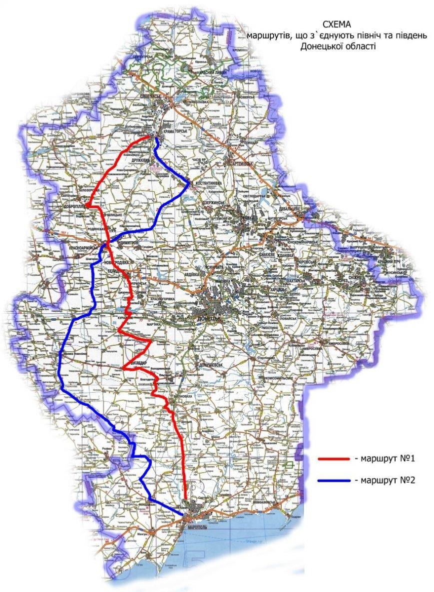 Маршрут объезда оккупированной территории в Донецкой области пролегает через Доброполье (фото) - фото 1