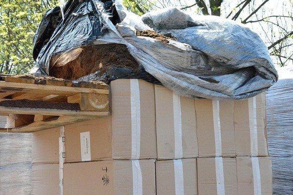 Возле Белостока задержали гродненские сигареты на 823 тыс. долларов (фото) - фото 2