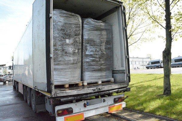 Возле Белостока задержали гродненские сигареты на 823 тыс. долларов (фото) - фото 1
