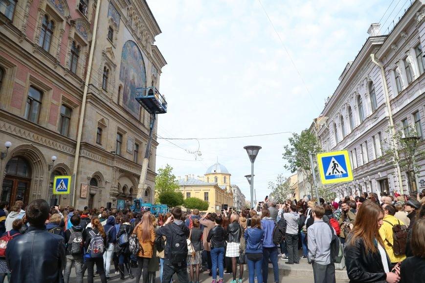 В Петербурге после реставрации открыли считавшееся утраченным уникальное мозаичное панно (фото) - фото 1