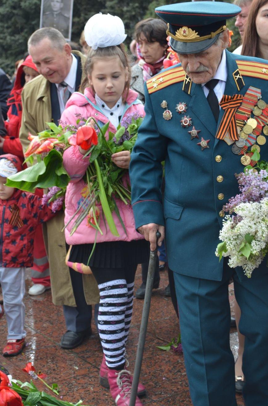 Макеевские металлурги приняли участие в мероприятиях ко Дню Победы (фото) - фото 1