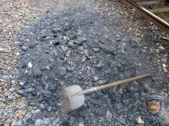 Красноармейские правоохранители задержали двух мужчин, которые пытались украсть более 400 кг угля (фото) - фото 2