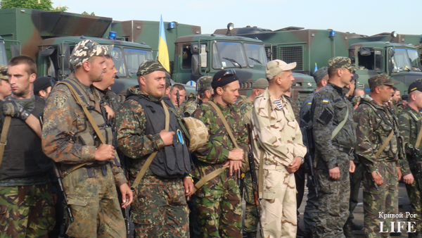 Кривой Рог встретил бойцов, защищавших Мариуполь (ФОТО) (фото) - фото 1