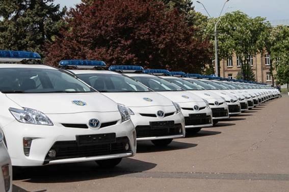 Из Японии 348 полицейских авто для Киева и Одессы (ФОТО, ВИДЕО) (фото) - фото 1