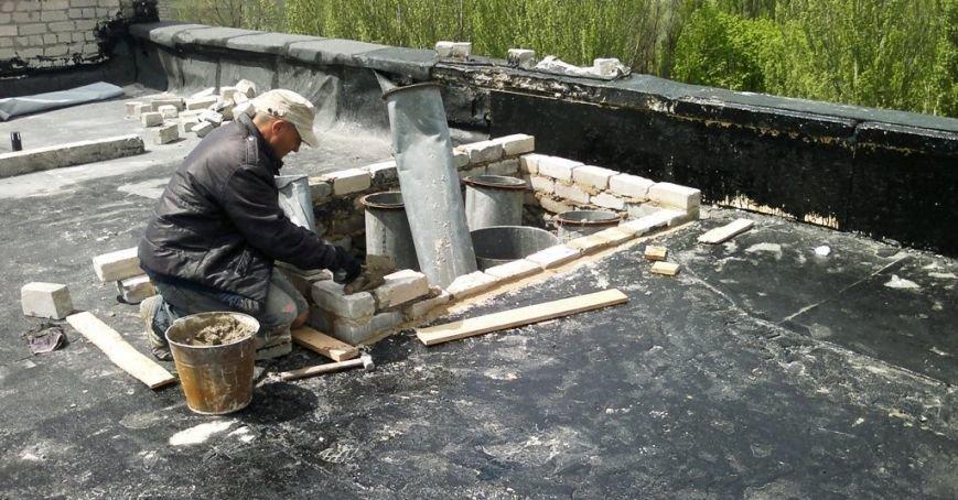 Крыша АЦГБ (2)
