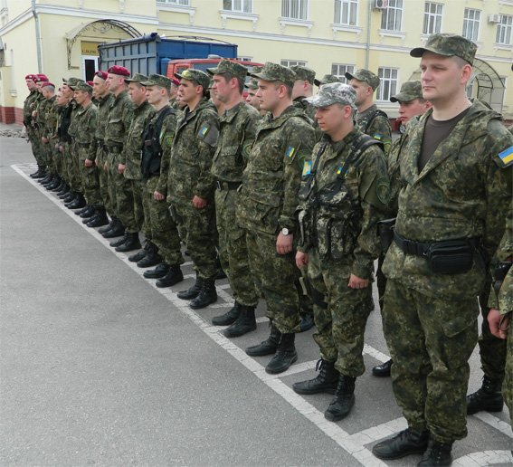 Кировоградские правоохранители отправились в зону АТО. ФОТО (фото) - фото 1