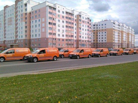 Фотофакт: в Гродно прибыли машины «Евроопта» для доставки еды на дом (фото) - фото 3