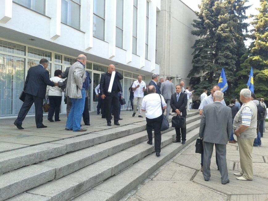 Громада Решетилівщини знову мітингує у стін Полтавської ОДА (ФОТО) (фото) - фото 1