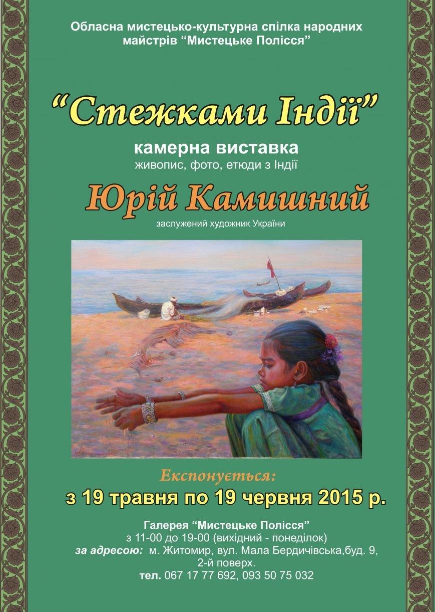 Житомирян запрошують пройтись «Стежками Індії», фото-1